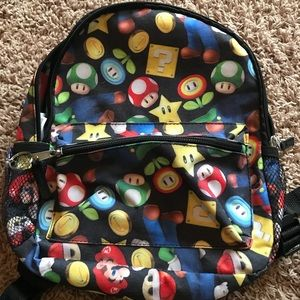 Other - Mario Brothers Backpack, Preschool Size